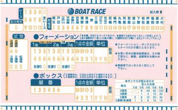 レース 投票 ボート